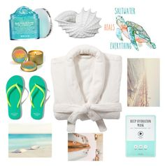 """""""Saltwater"""" by camryn-butler ❤ liked on Polyvore featuring Peter Thomas Roth, Pottery Barn, Forever 21, Privilege and Abercrombie & Fitch"""