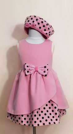 Girls that lunch...little and pink polka dot girls party dress at www.littleandpinkboutique.co.uk Girls Party Dress, Baby Dress, Girls Dresses, Summer Dresses, Boutique Party Dresses, Kids Fashion, Winter Fashion, Queen Fashion, Pink Polka Dots