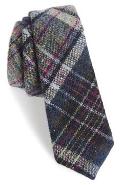 ALEXANDER OLCH Plaid Wool Tie available at #Nordstrom
