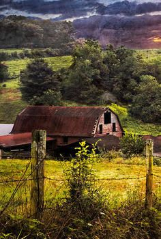 Barn Country Barns, Old Barns, Country Roads, Country Charm, Country Life, Horse Trough, American Barn, Barn Pictures, Wooden Barn