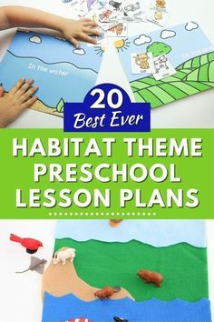 These 20+ animal habitat lesson plans from Life Over C's for preschool provide meaningful learning experiences to help your child discover all they want to know about their favorite animals' homes. These lesson plans are perfect for teachers or homeschoolers. Grab these teaching resources! Lesson Plans For Toddlers, Preschool Lesson Plans, Preschool Books, Preschool Curriculum, Preschool Science, Homeschooling, Kindergarten, Science Experiments For Preschoolers, Educational Activities For Kids