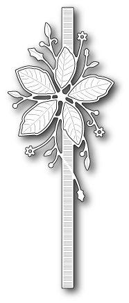 Memory Box - Die - Poinsettia Ribbon,$13.99