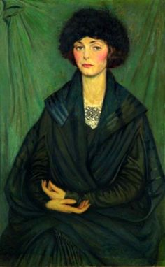 Catherine Wallstrom by Philip Leslie Hale (1865 – 1931)