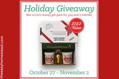 Cox Honey Giveaway | The Easy Homestead (.com)