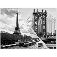 Trademark Fine Art Crossing the River Canvas Art by Philippe Hugonnard, Size: 24 x 32, Multicolor