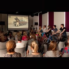 Year 12 students at the LINGUASTARS summer school get into the Tour de France spirit with this amazing pedal powered cinema. Learn more at http://www.leeds.ac.uk/arts/events/event/2119/ #TDF