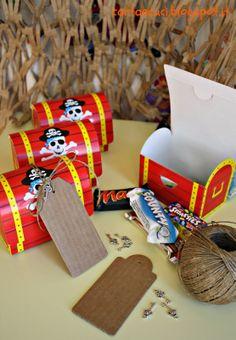 Carta e Cuci: Pirati noi siam...(Compleanno Edoardo - Pirati - F...