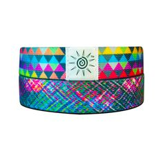 Colorful Triangle Wrist Bands