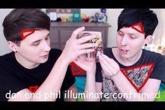 AmazingPhil Dan and Phil PUNK EDITS IN REAL LIFE