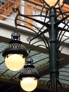 Waucquez Warehouse, Victor Horta,art nouveau, brussels, lamp detail