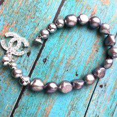 $17.00.  FRESHWATER PEARL BRACELET by MimiJewels on Etsy.  Love this vendor.