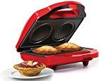 So you would like to make mini pies at home conveniently? The Holstein Housewares Mini Pie Maker has you covered. It lets you bake two pies in minutes. Mini Pie Recipes, Cooking Recipes, Beignets, Breville Pie Maker, Cake Pops, Pumpkin Pecan Cheesecake, Donuts, Best Pie, Savory Tart