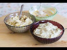 Hummus, Tehina e Babaghanoush [Cucina Israeliana Tradizionale] - YouTube