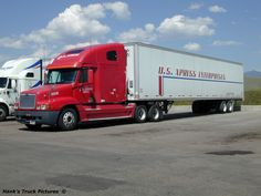The trucking company I drive for. Calark International by lancef2 ...