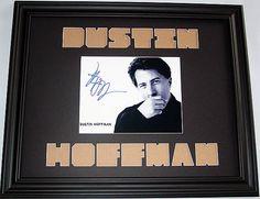 Dustin Hoffman Autographed Signed Photo Custom Display