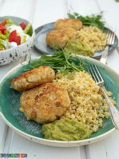Kotlety z kalafiora Guacamole, Meat, Chicken, Food, Essen, Meals, Yemek, Eten, Cubs
