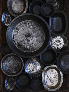 Vintage Pie Tins are like prized possessions... | William Meppem for Donna Hay Magazine