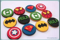 super hero cookies. Or matching game?