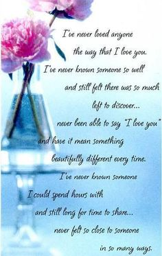 lovely poems for him - Google Search