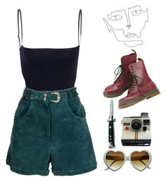 """for crying out loud"" by heartbreakm0tel on Polyvore featuring Polaroid"