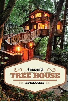 The most comprehensive treehouse hotel guide. An Ecotourism choice around the world.
