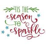 tis the season to sparkle phrase