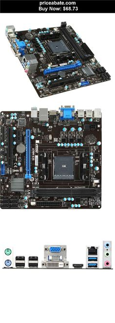 Computer-Parts: MSI A78M-E35 AMD A78 Chipset Socket FM2+ DDR3 Micro ATX mATX Motherboard - NEW - BUY IT NOW ONLY $68.73