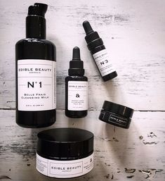 CURRENT BEAUTY ROUTINE ediblebeautyau  This skincare is so clean you can eat itBut trust me its better to put it on your face  Let me tell you the quality of this range is out of this world  These products are topping my fav chart you will find them on th