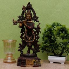 Shop beautiful Lord Krishna statues in different sizes, colors, styles and price ranges at StatueStudio — FREE shipping worldwide. Order Now! Krishna Statue, Lord Krishna, Ranges, Statues, Sculptures, Idol, Free Shipping, Colors, Unique