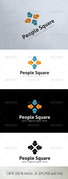 LOGO FOR SALE JUST 29$ People Square
