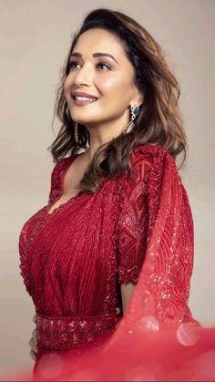 Bollywood Outfits, Bollywood Saree, Bollywood Fashion, Red Saree, Saree Dress, Sari, Beautiful Bollywood Actress, Most Beautiful Indian Actress, Indian Actress Hot Pics