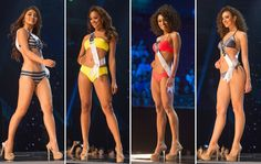 The annual Miss Universe pageant airs in the U. Take a look a the gorgeous contestants in swimsuits. Swimsuits, Bikinis, Swimwear, Exotic Beauties, Pageant, Competition, Universe, Take That, Lifestyle
