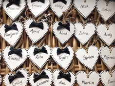 Handmade wooden bespoke place settings/favours by Lilly Dilly's Vintage Theme, Place Names, Table Plans, Handmade Wooden, Place Settings, Favours, Wedding Table, Bespoke, Monochrome