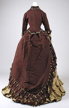 Visiting dress Emile Pingat (French, active 1860–96) Date: ca. 1872