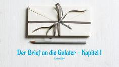 Der Brief an die Galater, Kapitel 1