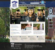 James Sprunt Community College Website Design