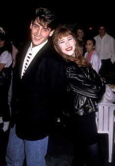 Jonathan dated fellow pop star Tiffany, but the two had to keep their relationship a secret to avoid upsetting fans. | 11 Things You Didn't Know About The New Kids On The Block