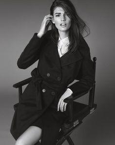 Director's cut. Like a movie star in black & white #fashion #marella