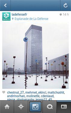 La Défense est sur Instagram ! | Defacto - Quartier d'affaires de la Défense