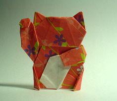 Maneki Neko Origami