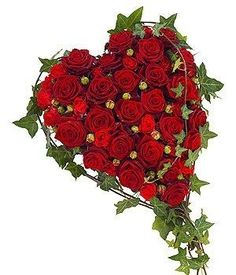 The importance of funeral flowers is what we take the most pride in. Rosen Arrangements, Funeral Flower Arrangements, Funeral Flowers, Floral Arrangements, Cushion Arrangement, Valentine Bouquet, Funeral Tributes, Valentine Decorations, Beautiful Roses