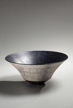 tazón niveles cónica, 2015, japonés contemporáneo, moderno, cerámica, escultura