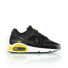 nike KIDS AIR MAX COMMAND GS black/gold/white