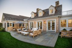 HGTV® Dream Home 2015 Back Patio   Spacious and comfortable, the beautiful back patio...is the perfect spot for entertaining all year round.