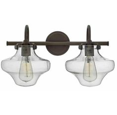 FREE SHIPPING. Purchase the 3-Light Congress Bath Lights from Hinkley today at lightingconnection.com. Available in Antique Nickel, Olde Bronze, and Chrome. Hinkley 50034CM