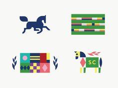 Steeple Chase designed by Gardner Design. Gardner Logo, Branding Design, Logo Design, Design Design, Portfolio Logo, Animal Logo, Graphic Design Illustration, Steeple Chase, Logo Inspiration