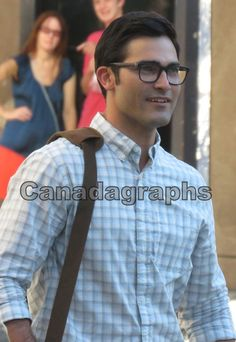Tyler Hoechlin as #Superman alias Clark Kent on the set of #Supergirl July 29, 2016 in Vancouver.