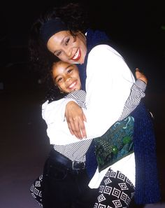 Whitney Houston and Bobbi Kristina Beverly Hills, Whitney Houston, Lady Gaga Pictures, Beautiful Voice, Beautiful People, Thing 1, We Are The World, Bobby Brown, Female Singers