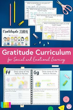 Gratitude Curriculum for Social and Emotional Learning