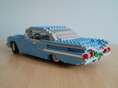 Chevy Impala- like the getaway car in Harry Potter- watch out whomping willow!